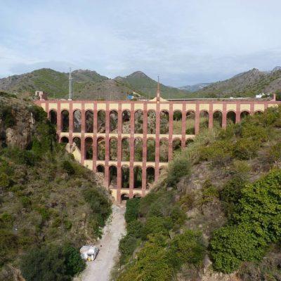 Roman aqueduct in Nerja