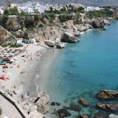 Calahonda beach in Nerja