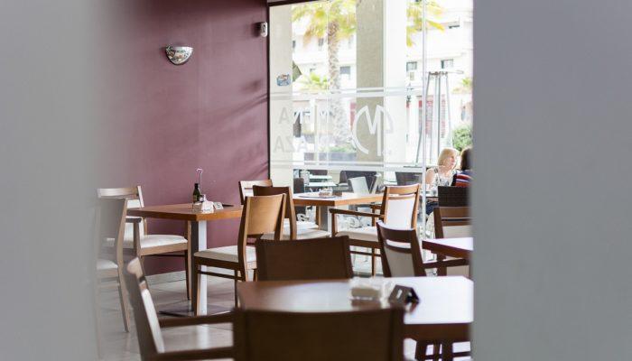 Interior restaurante - Hotel Mena Plaza ** | Hotel en Nerja