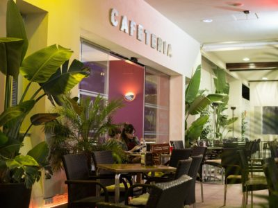 Portada Restaurante - Hotel Mena Plaza ** | Hotel en Nerja
