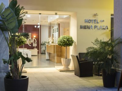 Entrada - Hotel Mena Plaza ** | Hotel en Nerja