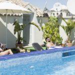 Solarium Piscina - Hotel Mena Plaza ** | Hotel en Nerja