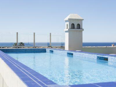 Piscina con vistas al mar - Hotel Mena Plaza ** | Hotel en Nerja